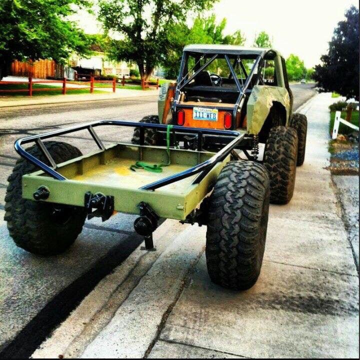 Crawler Camper Jeeps Jeep Jeep Truck Off Road Trailer