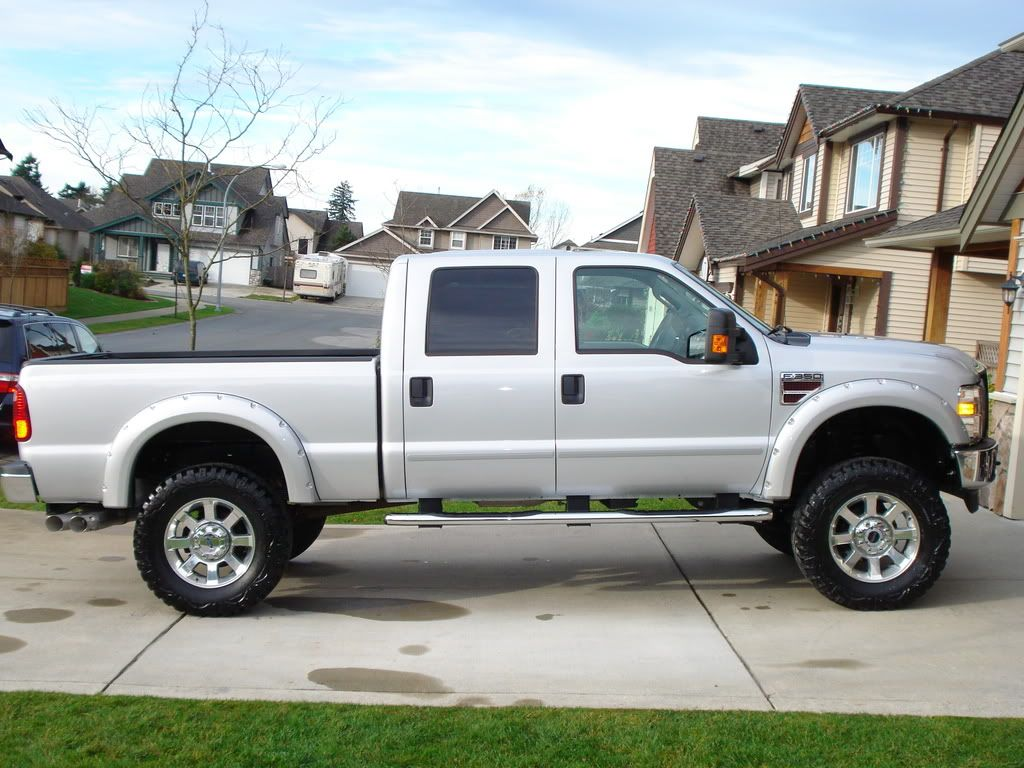 Images Of 08 F250 With Bushwacker Fender Flares Pocket Style Fender Flares Ford Powerstroke Diesel Foru Fender Flares Ford Powerstroke Powerstroke Diesel
