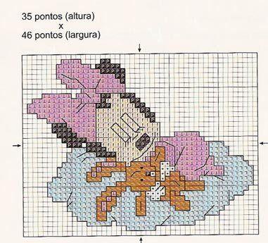 Connu Minnie baby | bimbi | Pinterest | Punto croce, Neonato e Schema ET31