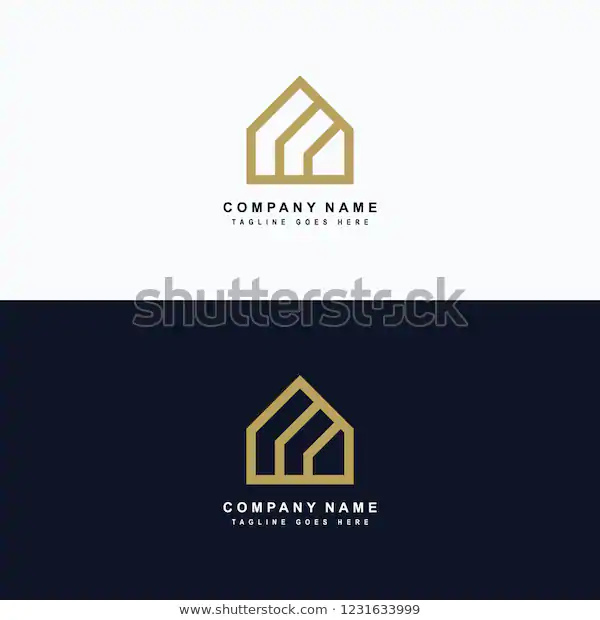 Blue Roof Logo Roofing Logo Construction Company Logo Blue Roof