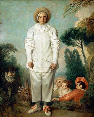 Jean-Antoine Watteau's Gilles