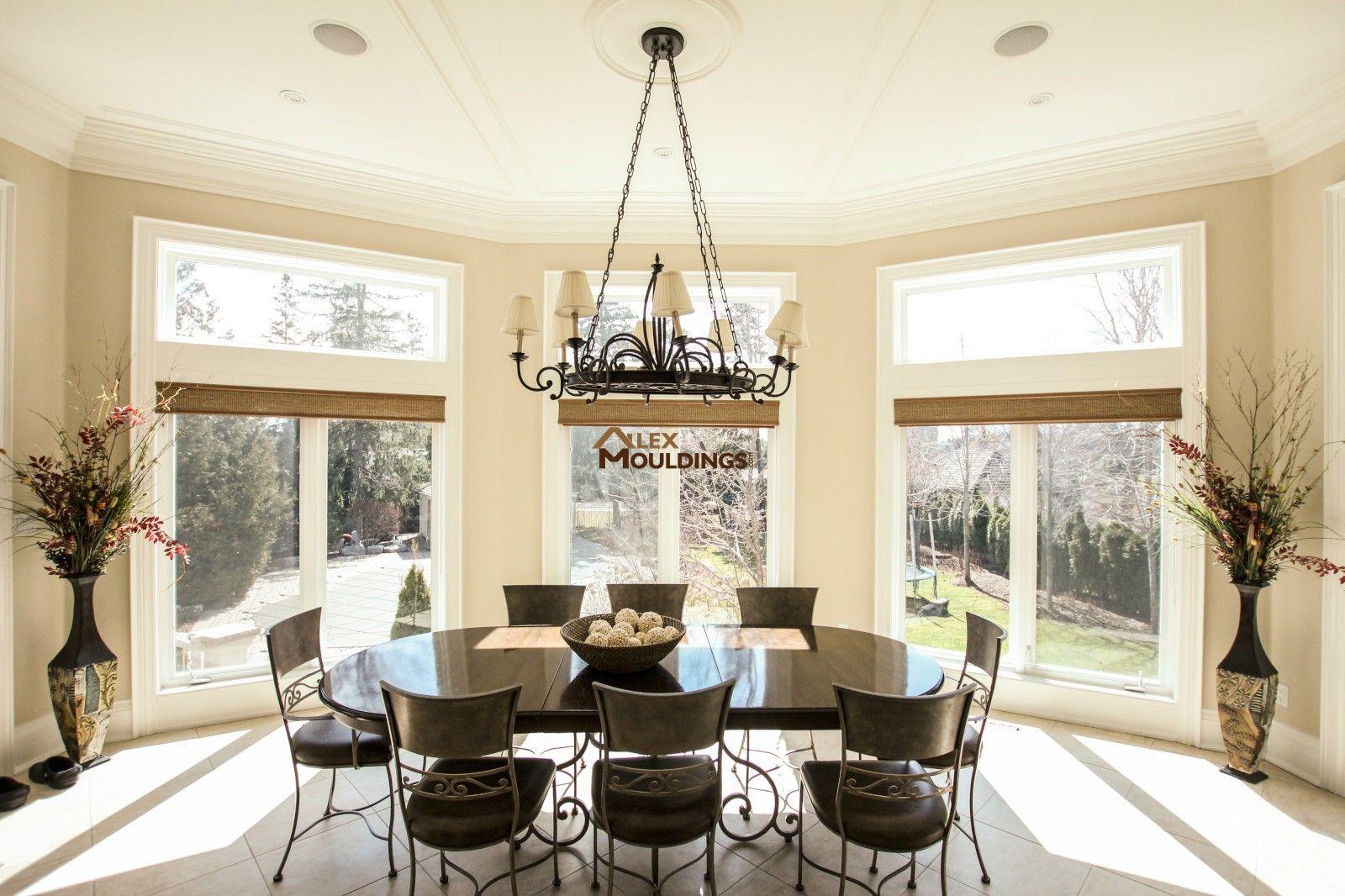 Dining room ceiling frames design | Model Home – Thornhill-2 ...