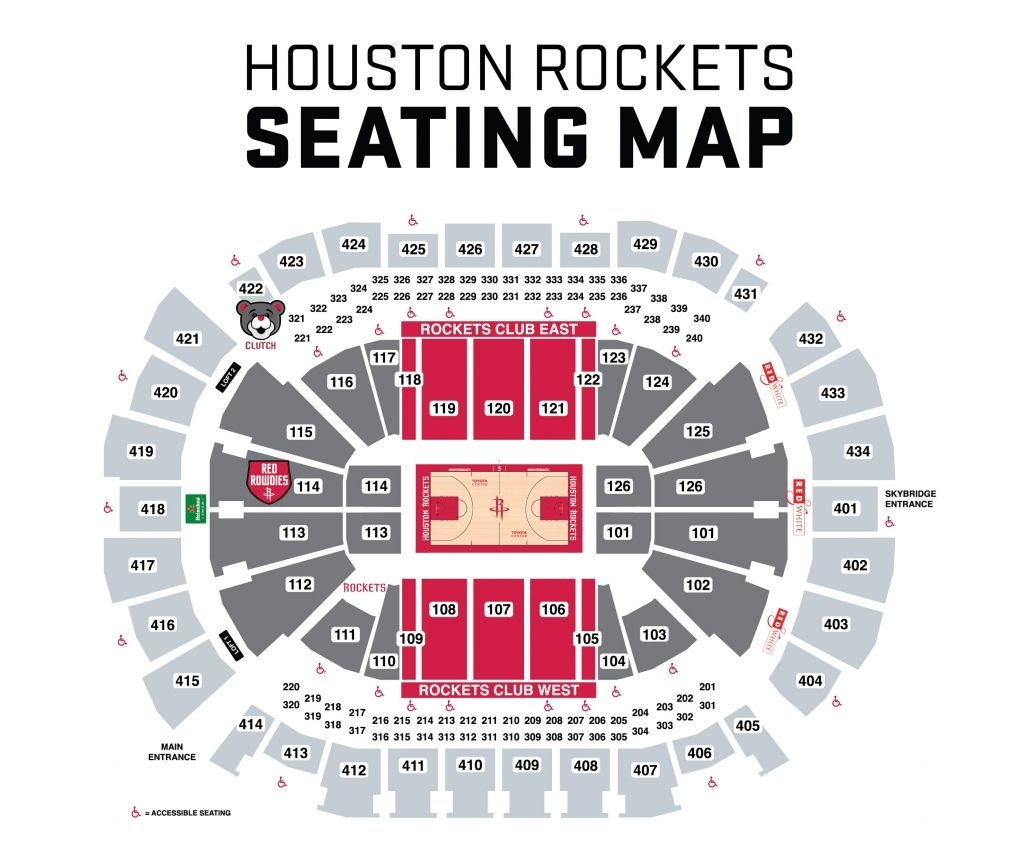 toyota center in 2020 Toyota center, Seating charts, Seating