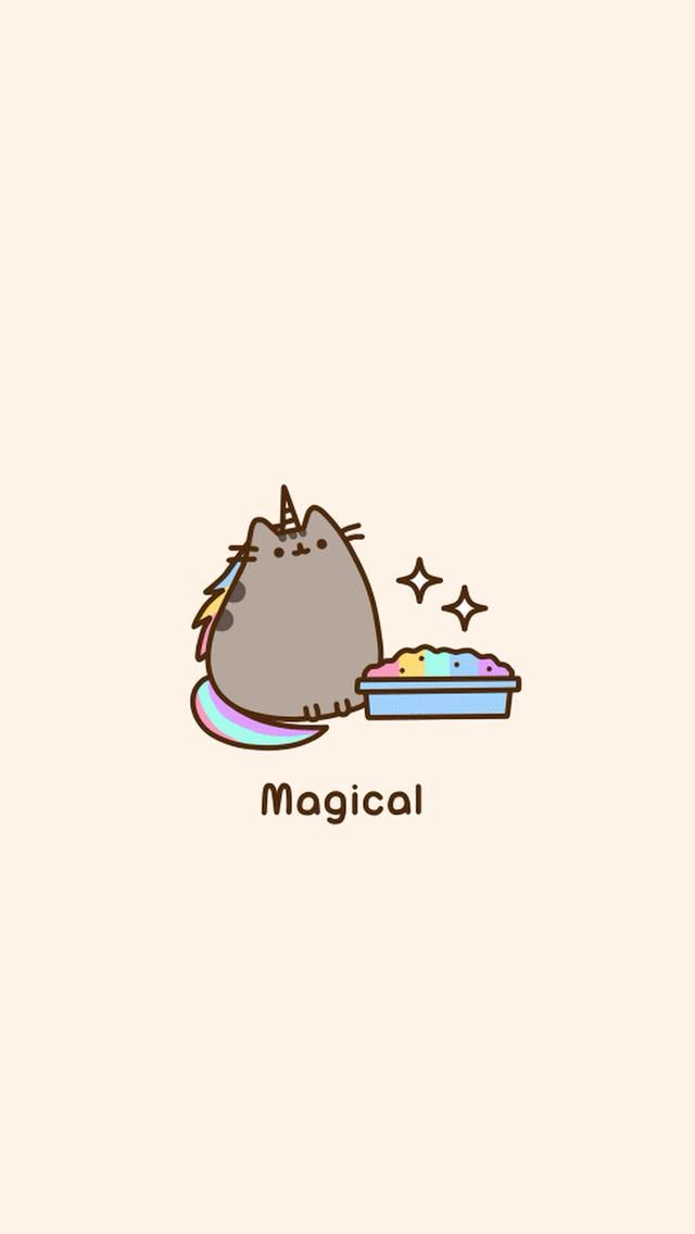 Pin By Joy Smith On Pusheen With Images Unicorn Wallpaper