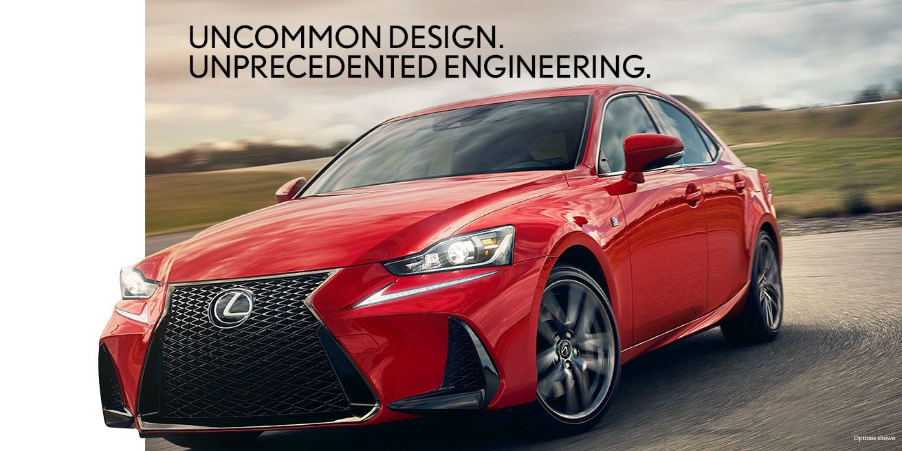 The 2018 Lexus IS tailors power to your preference with