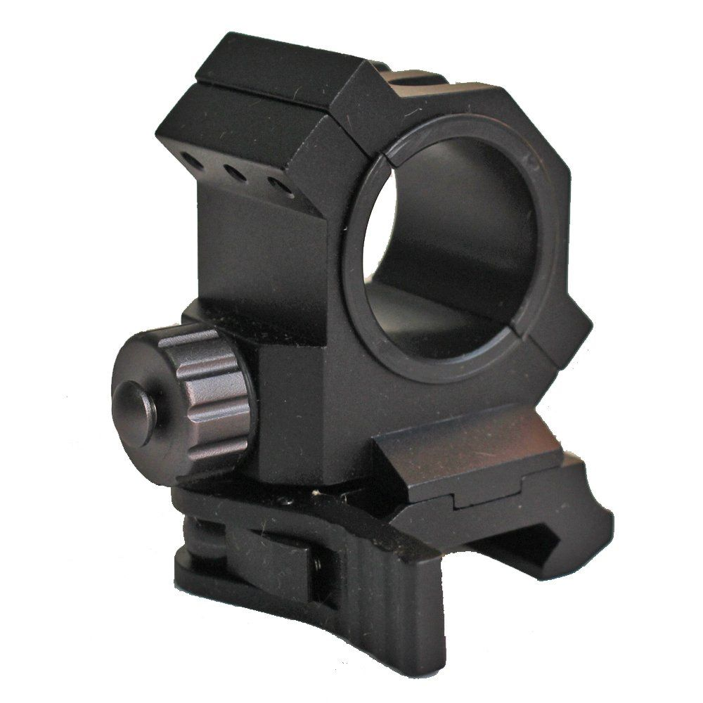 "QD Quick Release 25.4mm 1/"" Ring Scope Mount Picatinny Weaver Rail Rilfe Mount"