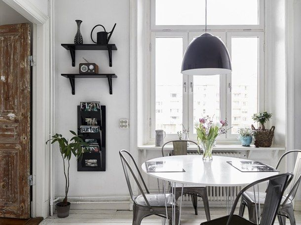 decor, design, dining, interior, interior design, scandinavian, white