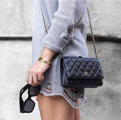 7961af1c03 CHANEL Shoulder Bags Lambskin 2WAY Luxury Brand Chain Bag Luxury Brand Bag 4