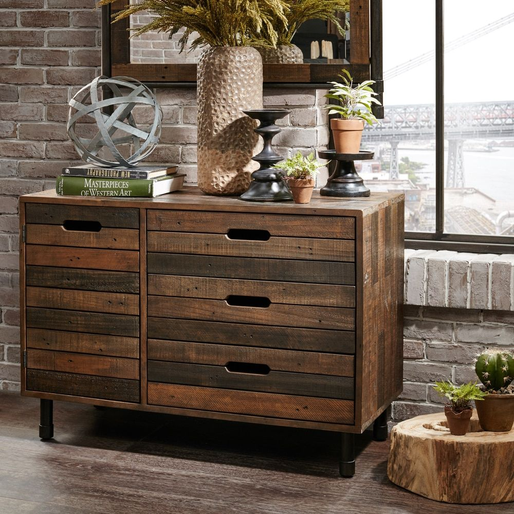 Pine Canopy Reclaimed Wood Multi Chest