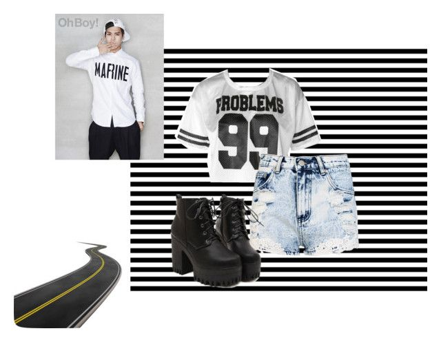 """""""BORED!"""" by eliannaduluc ❤ liked on Polyvore"""