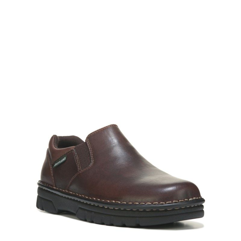 Eastland Mens Newport MediumWide Slip On Shoes Brown Leather