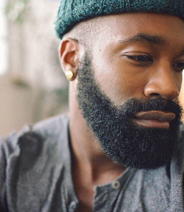 77 best black men beard styles amp mustache styles for 2019 - 750×862