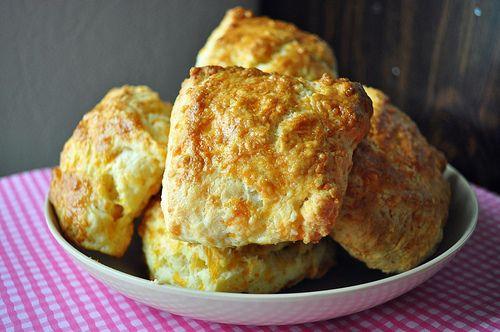 buttermilk cheddar biscuits, Ina Garten