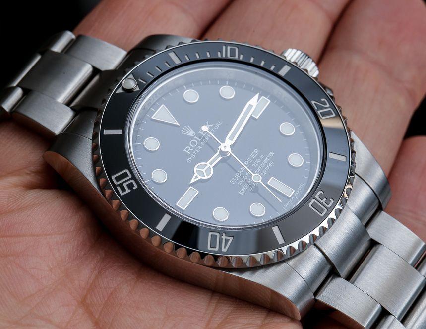 "ROLEX Submariner Ref. 114060 ""No Date"" Watch Long-Term ..."