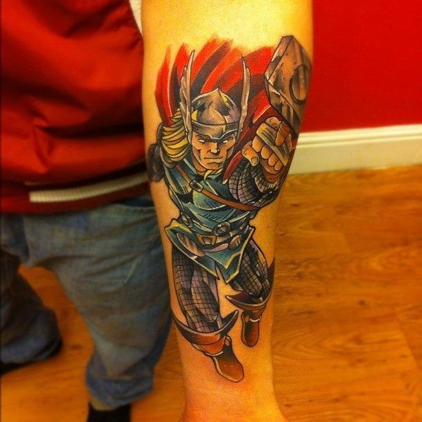 thor tattoo comic books pinterest thor tattoo tattoo and tatting. Black Bedroom Furniture Sets. Home Design Ideas