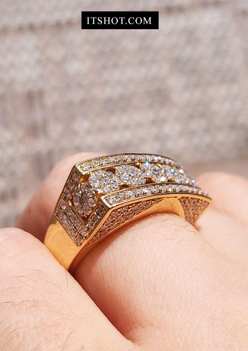 Luxurman Men S Diamond Rings This Unique Diamond Ring For Men