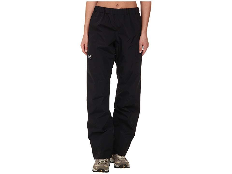 Arcteryx Beta SL Pant Black Womens Casual Pants It only takes one unexpected backcountry downpour to ruin a long trek With the easily packable Beta SL Pant stowed in your...