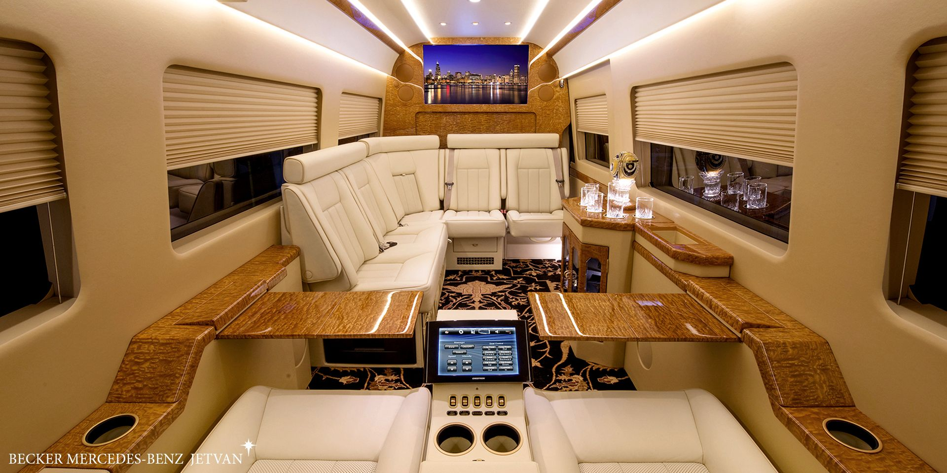 Sprinter Jetvan Luxury Bus Limousine Interior Bus Interior