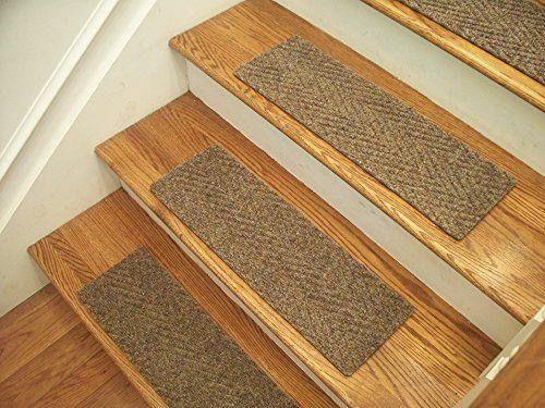 Best Essential Carpet Stair Treads Style Herringbone Color Best 640 x 480