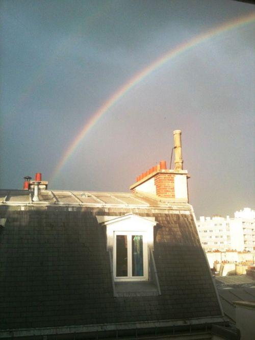 parisian rainbow.
