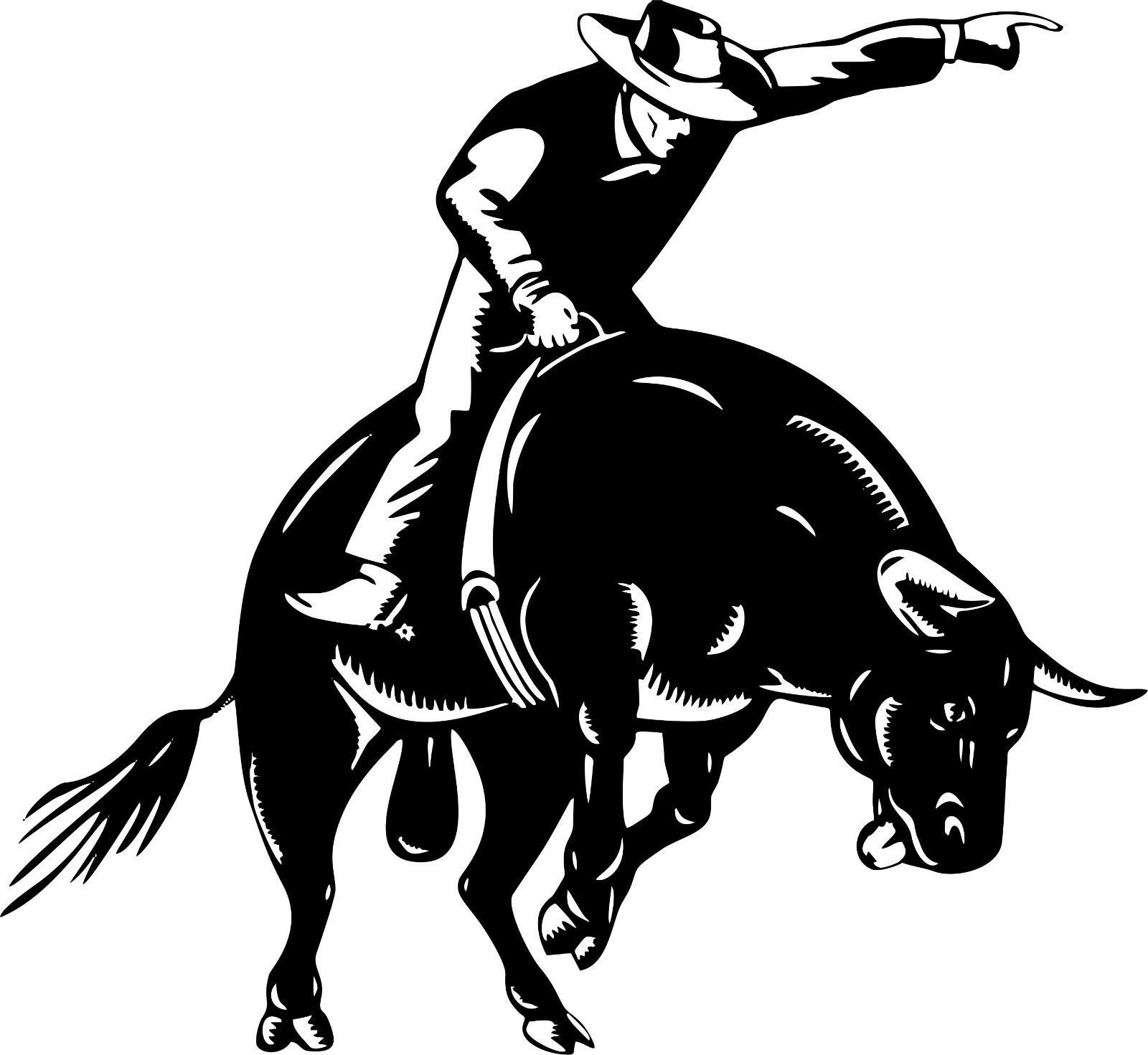 Details About Bull Riding Rodeo Cowboy Sports PBR Car