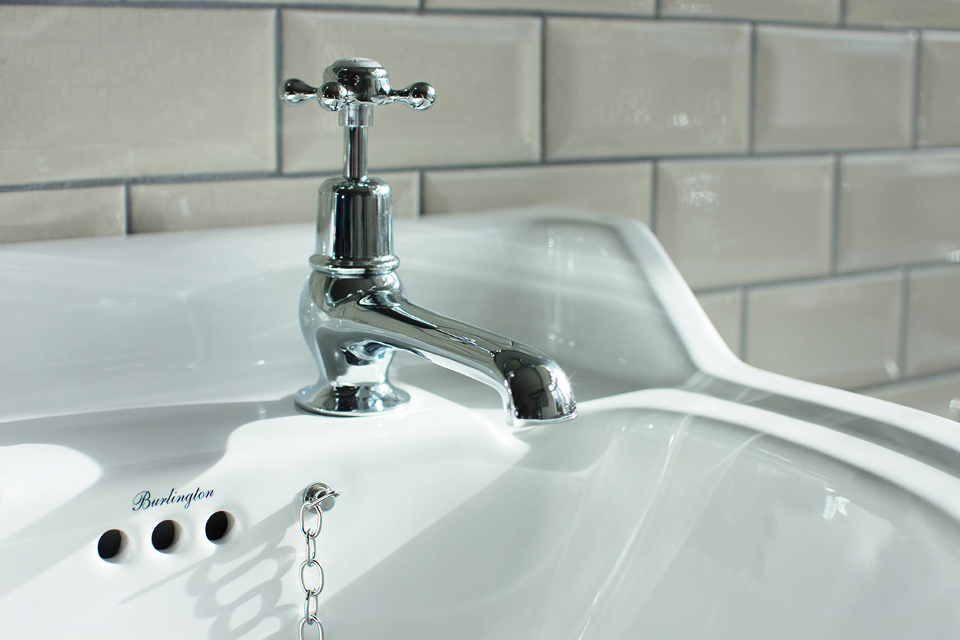 A classic favourite from Burlington - Claremont Basin Taps from ...