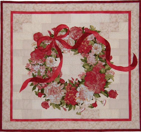 Quot A Wreath For All Seasons Quot Quilt Pattern By Ann Lauer