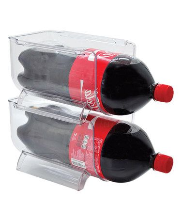 Another great find on #zulily! Soda Bottle Holder - Set of Two by Frigidaire #zulilyfinds