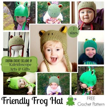 This adorable frog crochet hat is so much fun. Friendly Frog Hat - Media - Crochet Me
