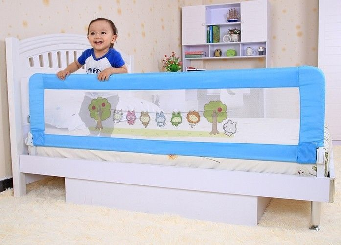 Toddler Bed With Rails All Around With Images Bed Safety Bed