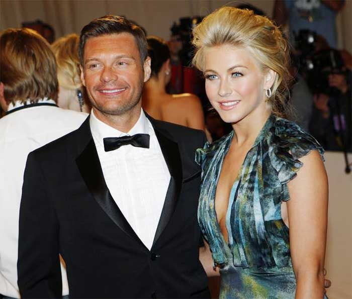 Ryan Seacrest and Julianne Hough Relationships Believed To Be Fake  #hollywood, #celebrities, #celebrity