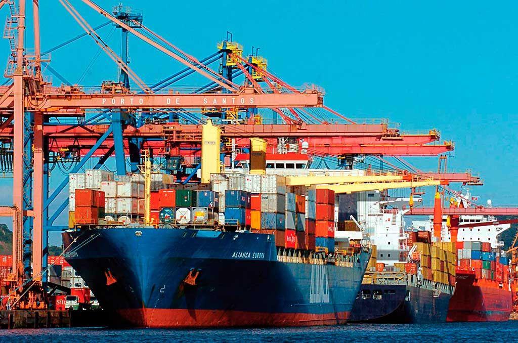 Protocolo Assinado Pelo Ministro Da Agricultura Pecuária E Abastecimento Blairo Maggi Autoriza Que Basf Bayer Adama Du Porto De Santos Grande Navio Navio
