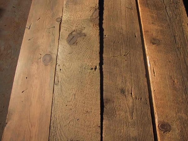 Recreated Old Look Barn Wood Wire Brushed 2x Ponderosa Pine