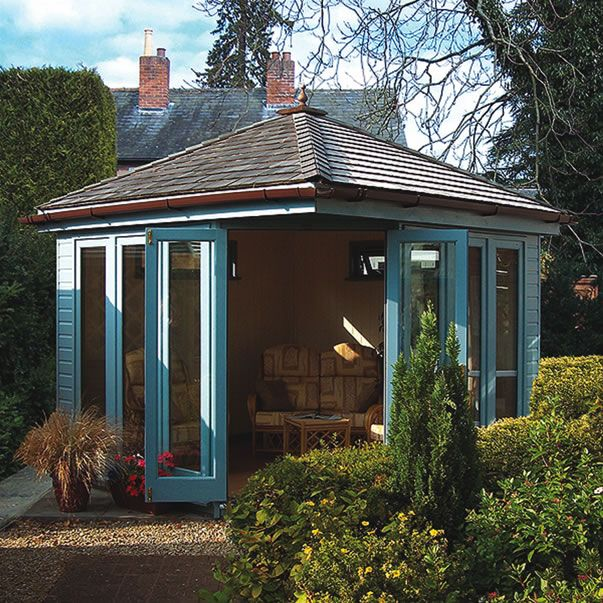 prefab corner garden studio - Google Search