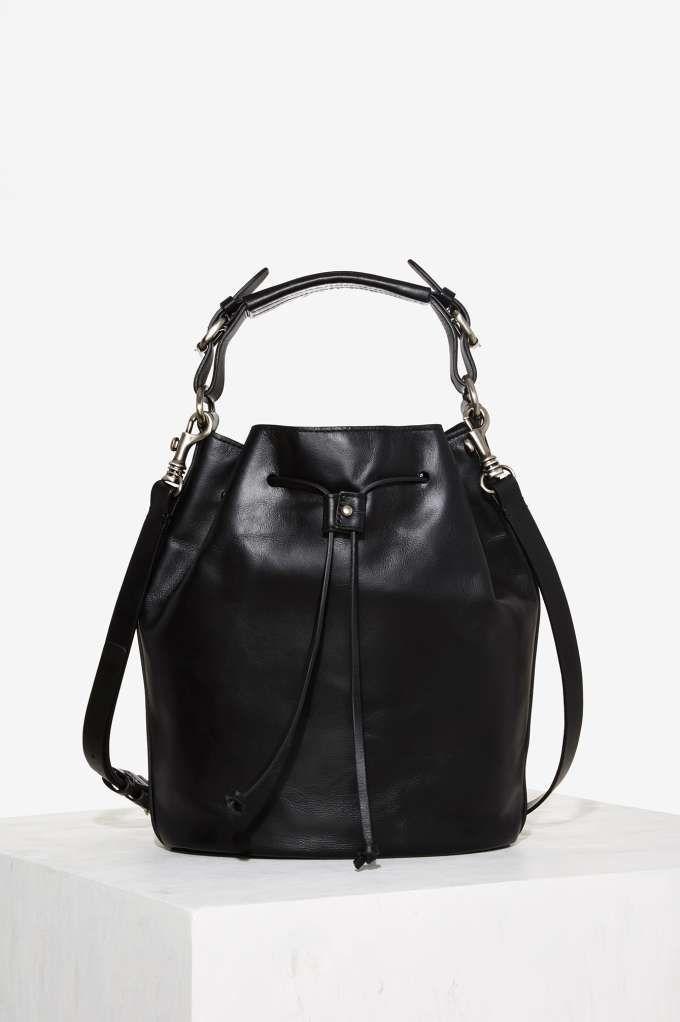 Kelsi Dagger Brooklyn Dusen Leather Bucket Bag - Accessories | Bags + Backpacks | Vintage Tees + Denim | Booties + Accessories | All Vintage Tees + Denim