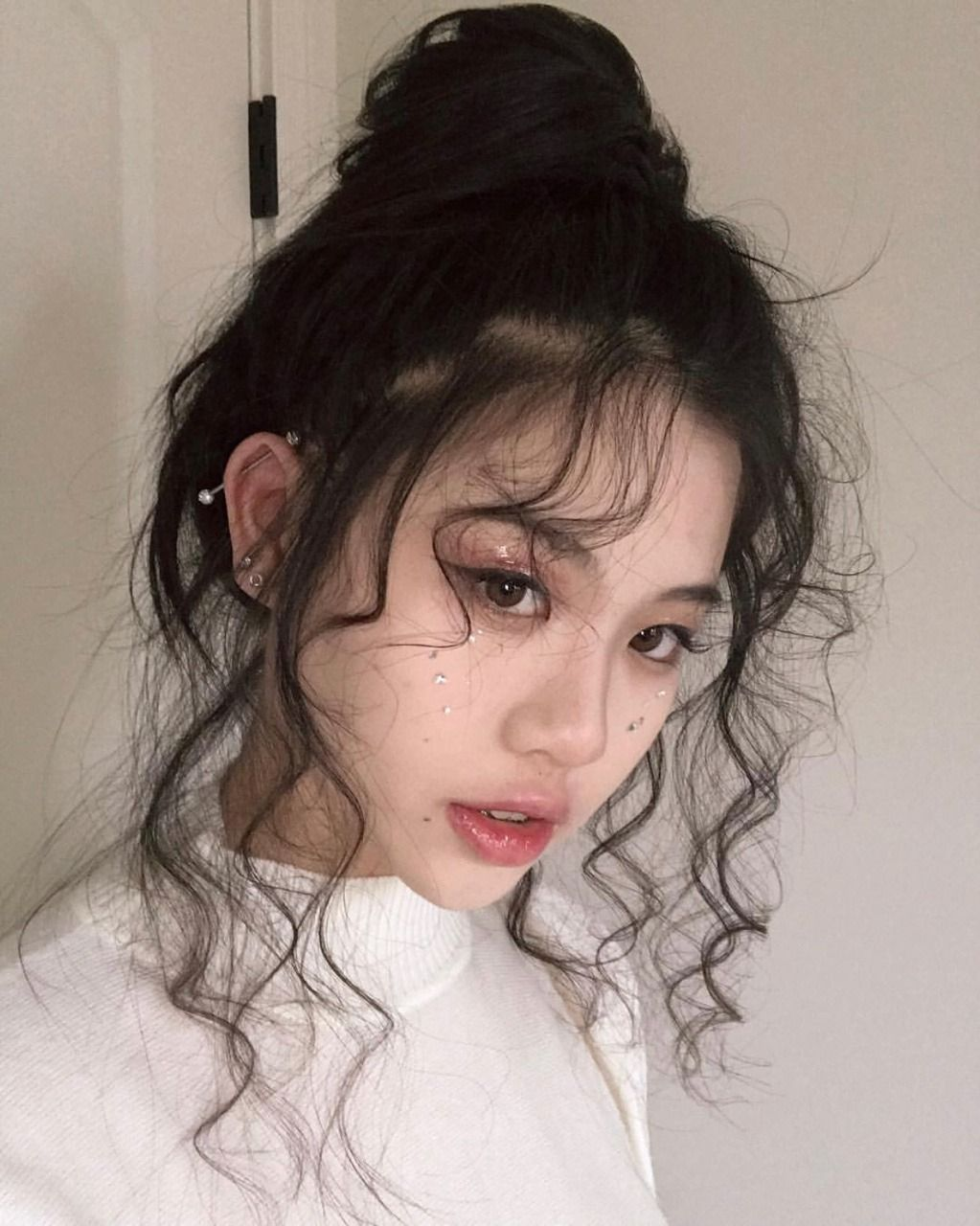 Ulzzang Girl Tumblr Aesthetic Hair Styles Pretty Hairstyles