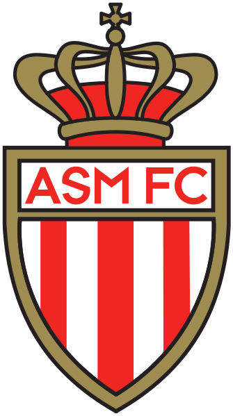 File As Monaco Logo Svg Wikipedia The Free Encyclopedia As Monaco Football Team Logos Sports Team Logos
