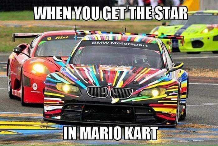 When #mariokart is life. #shwff #showoffimports #funny #bmw #trackdays #mario by showoffimports