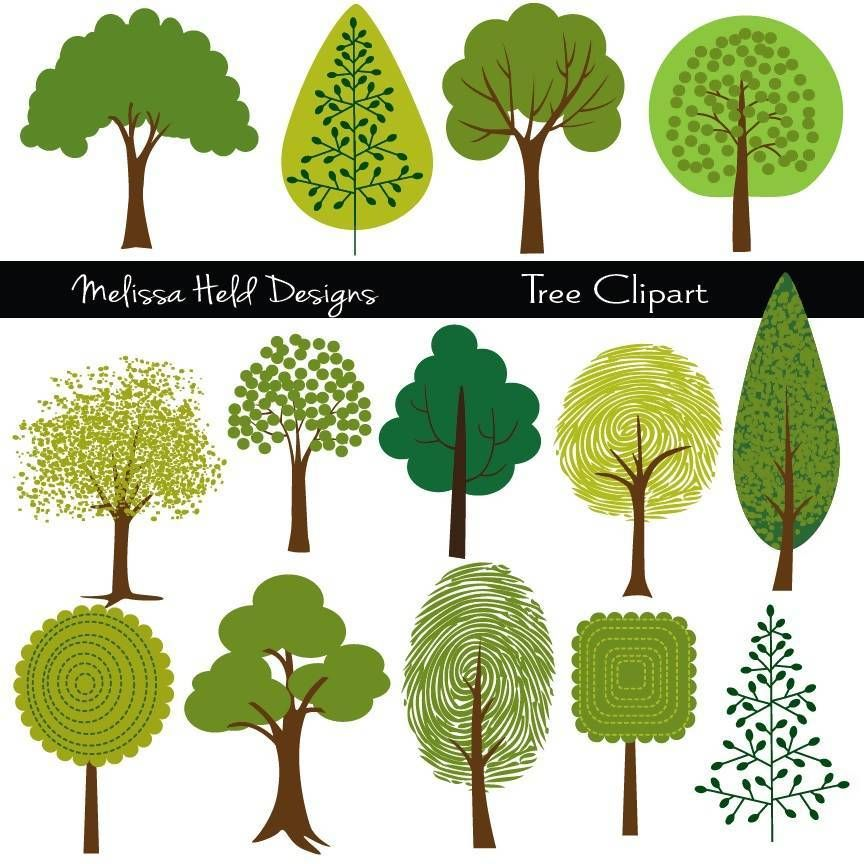 Tree Clipart In 2019 Mygrafico Illustrations Tree Clipart