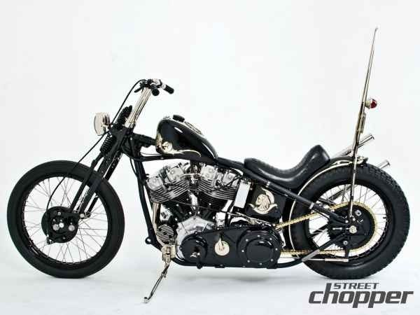 "shootforthrills: ""Harley Davidson Pan Shovel """