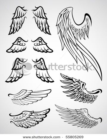 wings-how to draw | Tattoos | Pinterest | Tattoo, Drawings ...