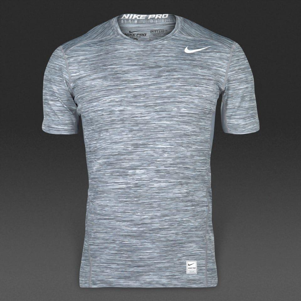 Activewear Camiseta Deportiva en Blanco y Negro Hombre
