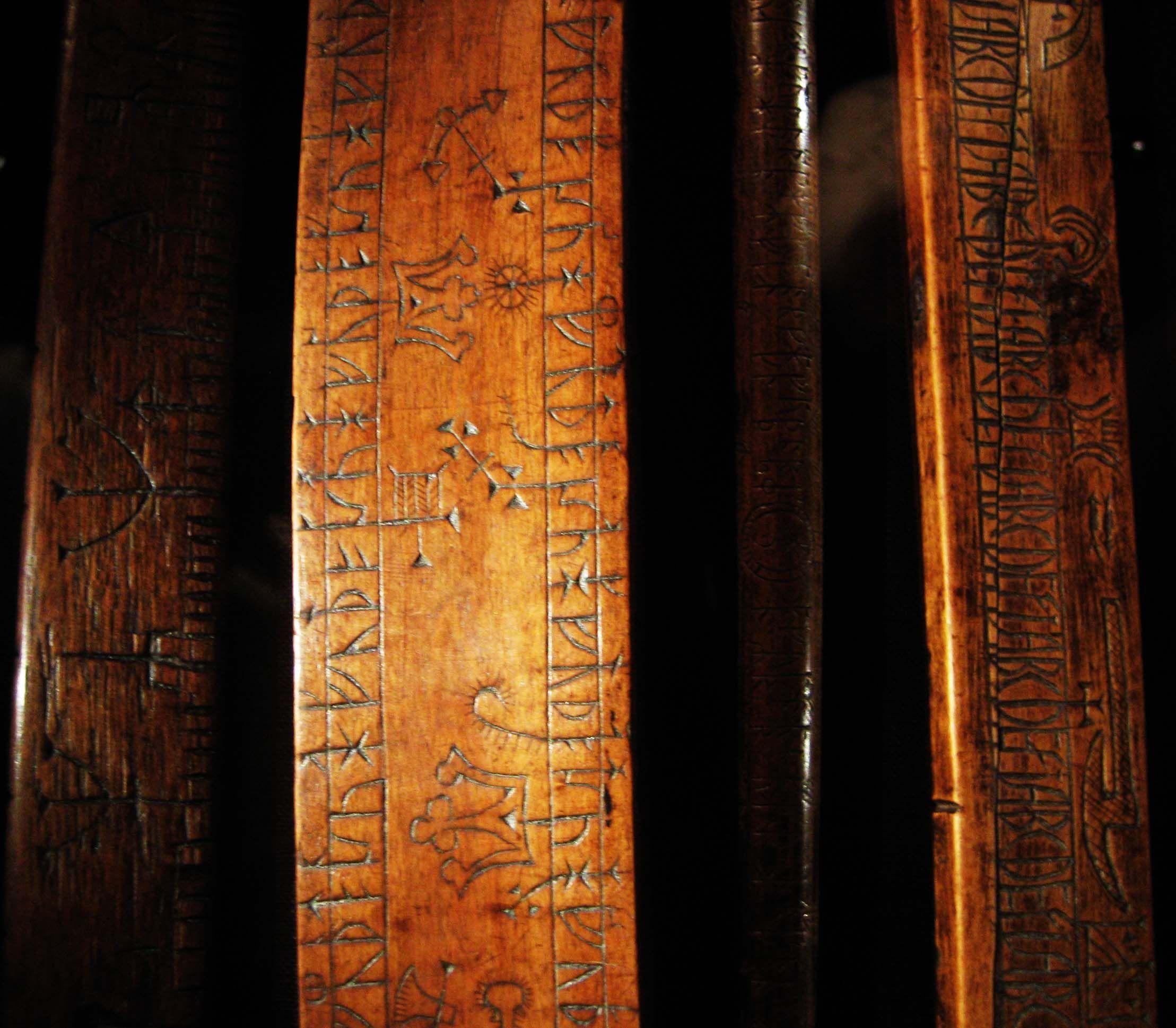 Riimusauva Lundin historiallisessa museossa