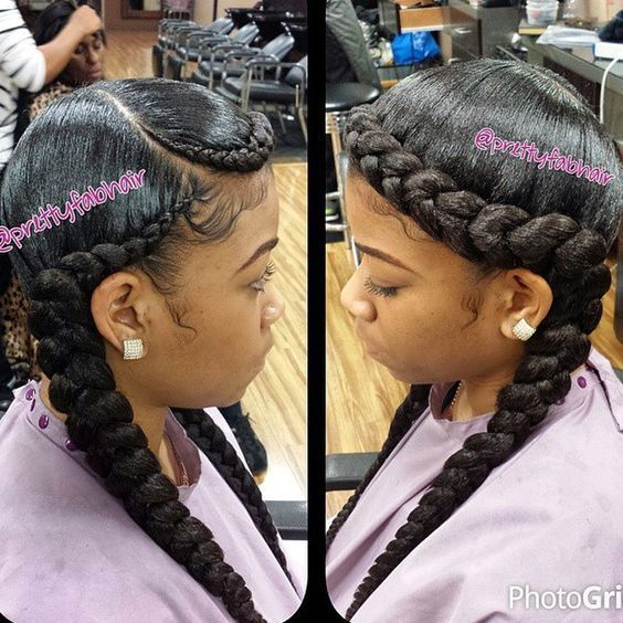 50 Ghana Braids Hairstyles Pictures For Black Women Style In Hair Two Braid Hairstyles Braids Hairstyles Pictures Braided Hairstyles