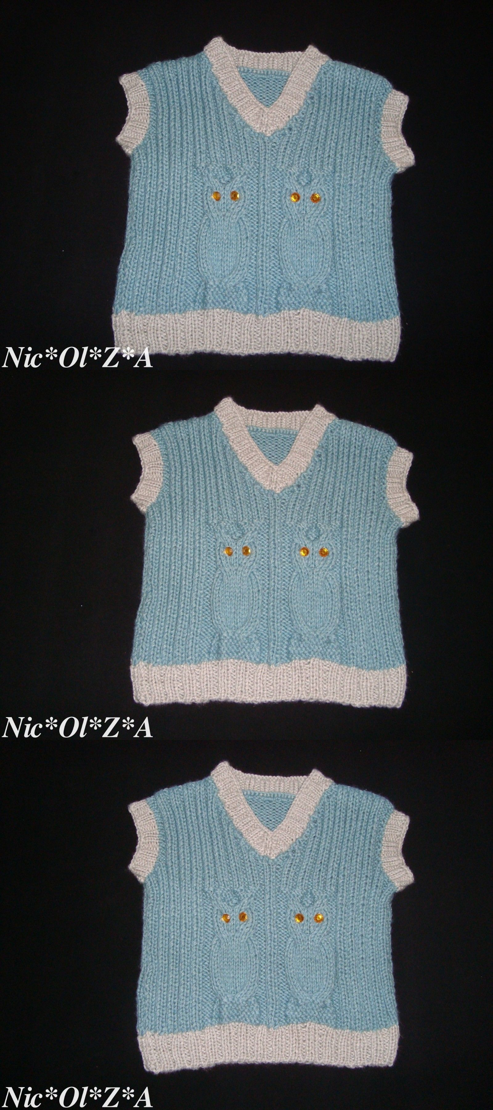 Other Newborn 5T Boys Clothes New Owl Sleeveless Shirt Baby