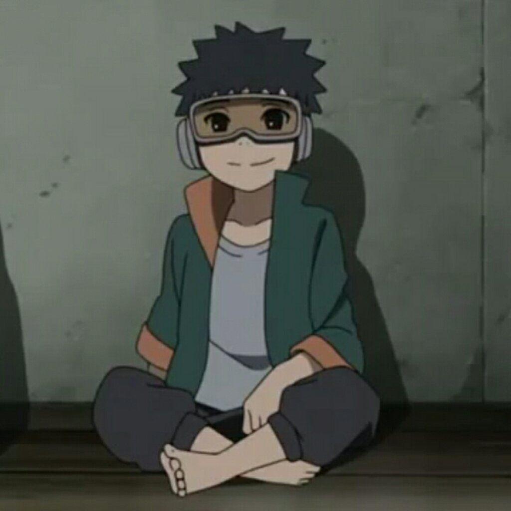 Naruto • match icons on Obito kid, Kakashi