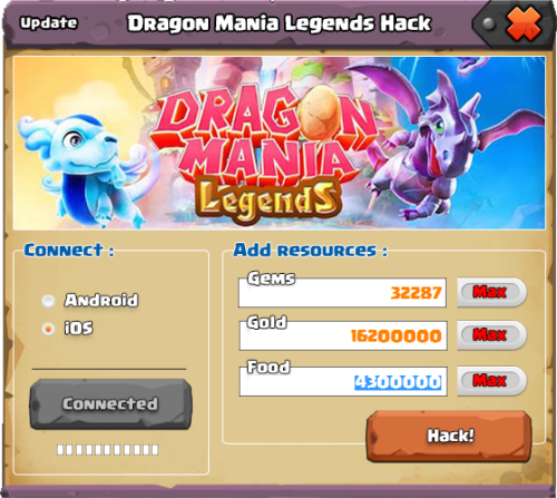 dragon mania legends hack apk free download