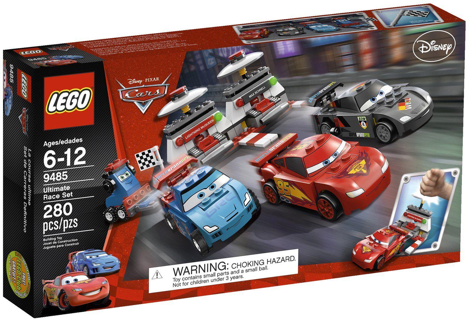 LEGO Cars Ultimate Race Set 9485 Raoul Çaroule, the world