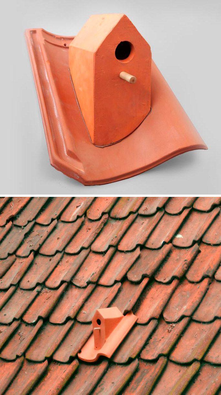 Birdhouse Rooftile By Klaas Kuiken Bird Houses Roofing Diy Modern Roofing
