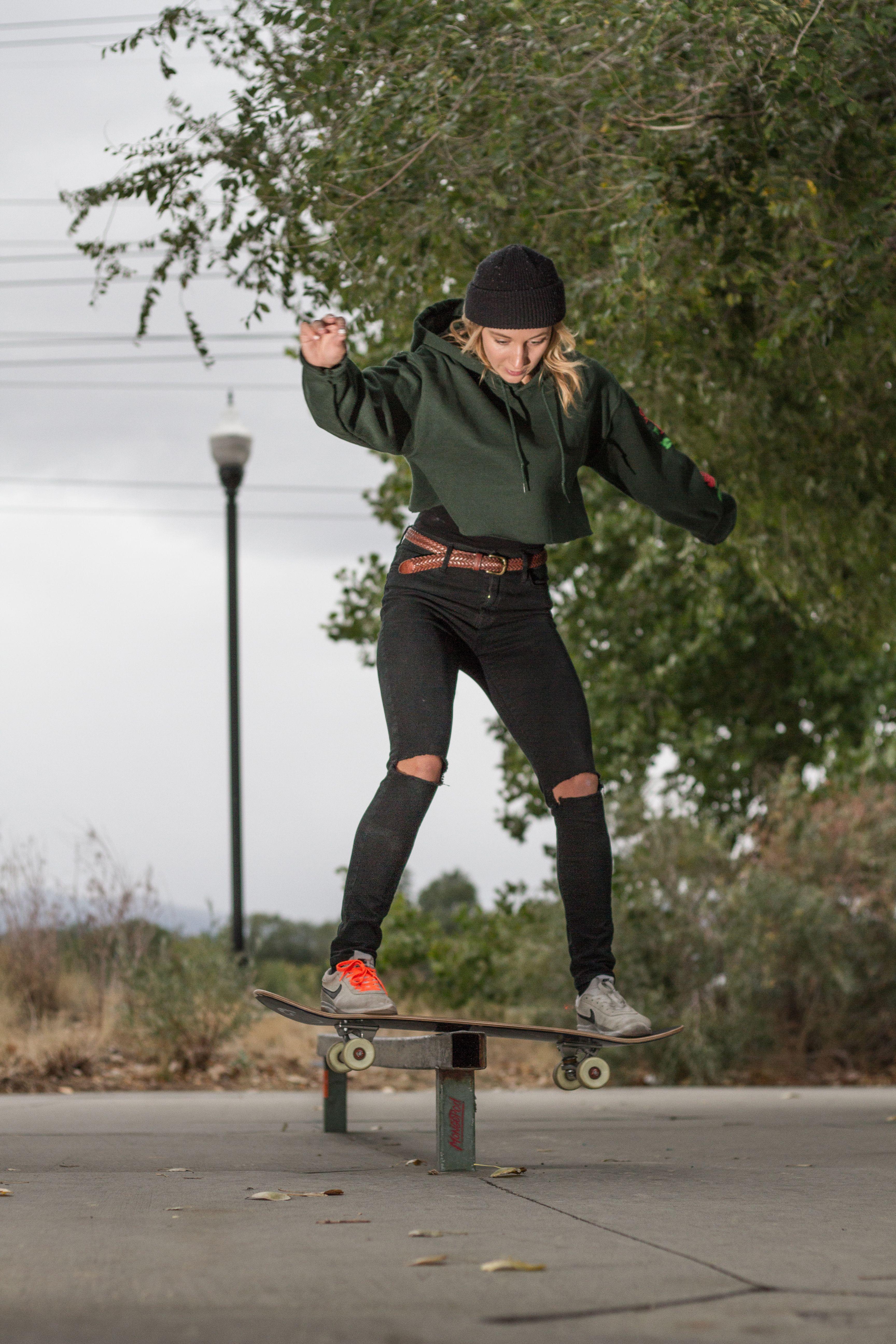 Skate like a girl 👊 | Skateboard fashion
